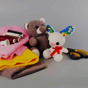 Наборы для изготовления и шитья кукол и брошек